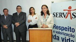 Educadora Célia Pinto Coelho assume a presidência do Servas