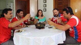 Chilenos conhecem pratos típicos da gastronomia de Minas e elogiam a hospitalidade dos mineiros