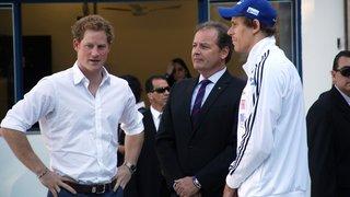 Em visita do Príncipe Harry, Governo de Minas assina acordo com Associação Paralímpica Britânica