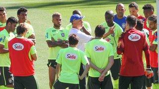 Em coletiva no Mineirão, Seleção Brasileira se confessa emocionada por jogar em casa