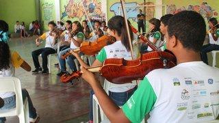 Orquestra Jovem se apresenta no Centro de Internação Provisória Dom Bosco