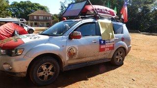 Caravana chilena chega a Belo Horizonte para acompanhar o jogo contra a seleção brasileira