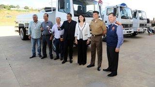 Defesa Civil e Coca-Cola FEMSA entregam equipamentos para garantir acesso a água potável