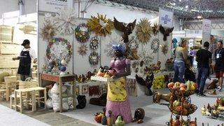 Feira Nacional de Artesanato traz diversas opções para as compras de Natal