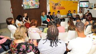 Jogo para smartphone e tablet reforça a campanha contra a dengue