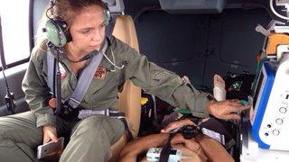 Helicóptero com UTI do Corpo de Bombeiros e Secretaria de Saúde completa um mês de atendimentos
