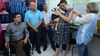 Dia D de Vacinação contra Gripe mobiliza moradores de Sabará, na RMBH