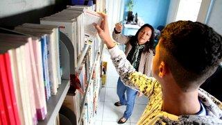 Biblioteca de centro de internação de adolescentes abre as portas para moradores do Barreiro