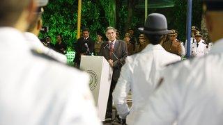 Pimentel renova compromissos com a segurança pública de Minas Gerais