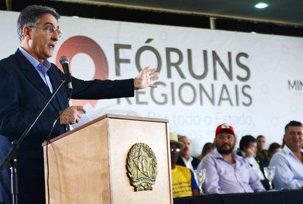 Pimentel fez um balanço dos resultados obtidos por seu governo nos oito primeiros meses de gestão