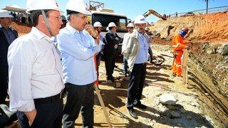 Pimentel visita obras de captação do Rio Paraopeba e garante fornecimento de água para a RMBH