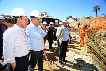 O projeto prevê a captação de até 5 mil litros de água com bombeamento para o Sistema Rio Manso