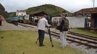 Holandeses percorrem trilhos de Minas Gerais e produzem filme para TV europeia