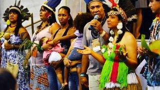 Abertura do I Encontro Estadual de Povos e Comunidades Tradicionais, em Belo Horizonte