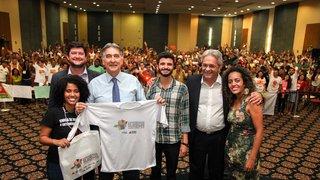 Governador convoca juventude a participar da elaboração de políticas públicas sociais